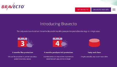 Bravecto Website